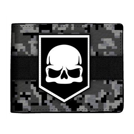 CALL OF DUTY ADVANCED WARFARE Skull Logo Wallet BioWorld