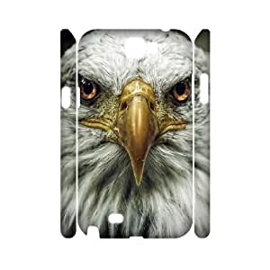 3D Samsung Galaxy Note 2 Cases this Creature is so Majestic,eagle, [White]