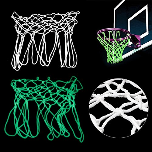 Tyary - Standard Basketball Hoop Net Luminous Glowing Universal Indoor Outdoor Shooting Training