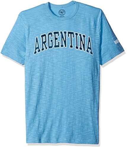 Argentina Men's '47 Vintage Scrum Tee, Carolina, Large