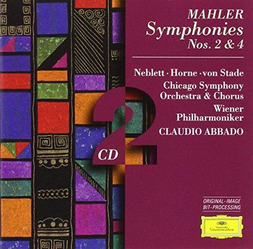 Mahler: Symphonies Nos. 2 & 4