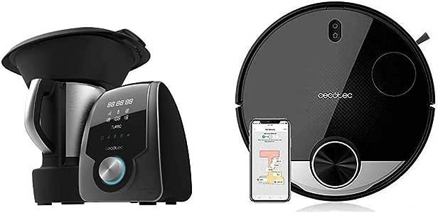 Cecotec Robot de Cocina Multifunción Mambo 7090 + Robot Aspirador Conga Serie 3290 Titanium: Amazon.es: Hogar