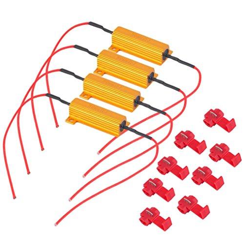 Ecosin Fashion Car Singal Resistor