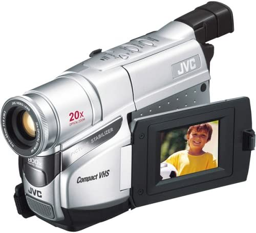 Amazon Com Jvc Gr Axm17u Compact Vhs Camcorder W 20x Optical Zoom Discontinued By Manufacturer Vhs C Camcorders Camera Photo