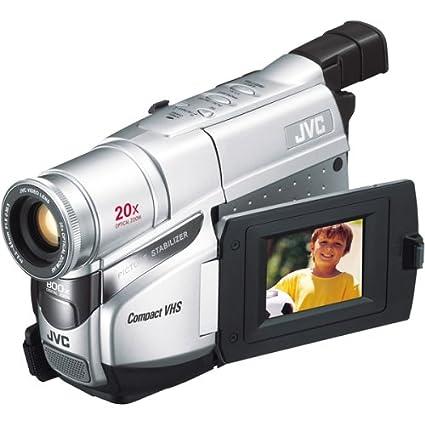 amazon com jvc gr axm17u compact vhs camcorder w 20x optical zoom rh amazon com