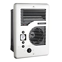 Cadet Cec163tw Energy Plus Multi-watt 120240v Wall Heater With Electronic Thermostat, White