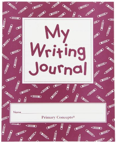 Primary Concepts My Writing Journal - 30 Pages - Set of 20 - Student Writing Journal