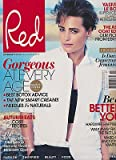 RED MAGAZINE UK NOVEMBER 2013, YASMIN LE BON, SUPERMODEL, HOARDER, PETROLHEAD.