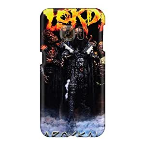 Shock-Absorbing Hard Phone Case For Samsung Galaxy S6 (nVD8880rSOJ) Support Personal Customs Fashion Lordi Band Pictures