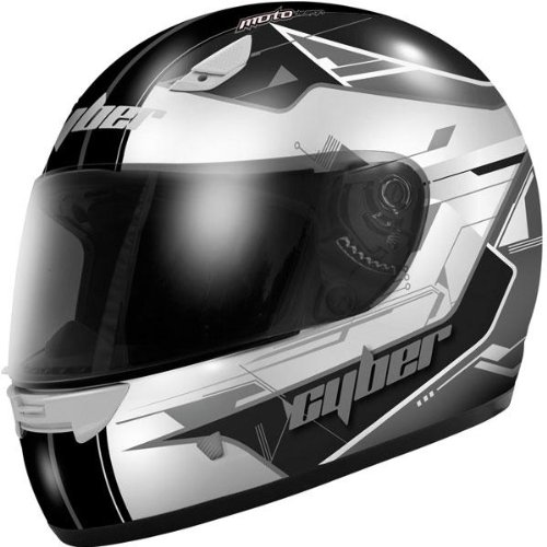 Cyber US-39 Full Face Helmet Silver S/Small