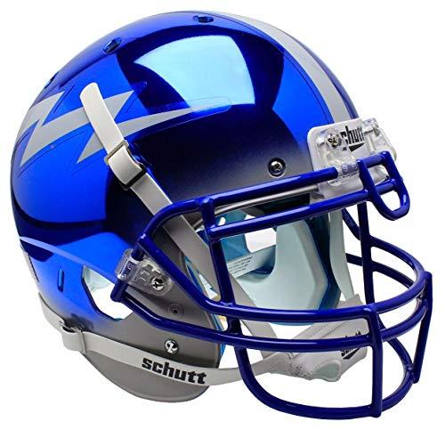 Schutt NCAA Air Force Falcons Replica XP Football Helmet, Falcons Blue/Gray Alt. ()