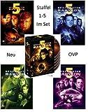 Spacecenter Babylon 5 - Staffel 1 - 5 (Box Set, 30 DVD´s)