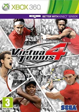 Sega Virtua Tennis 4 Xbox 360 Juego Xbox 360 Xbox 360 Deportes