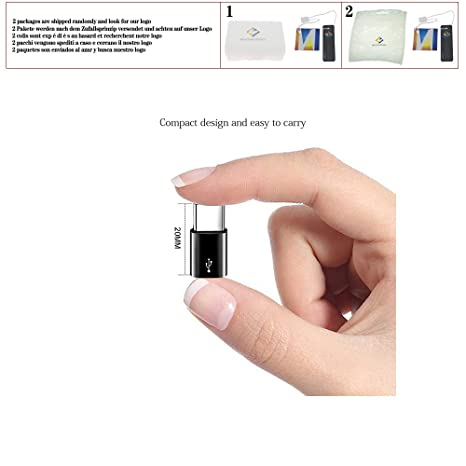 Amazon.com: Micro USB Female to Type C Male Adapter for ...