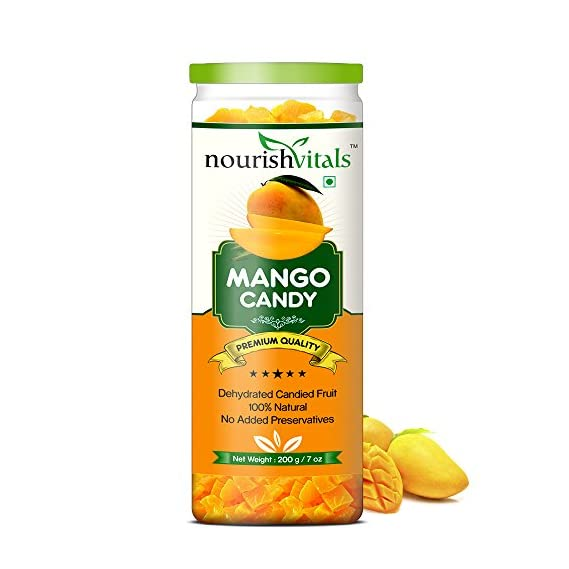 Nourish Vitals Mango Dried Fruit (Dehydrated Fruits) - 200 Gm
