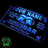 p-tm Name Personalized Custom Home Bar Beer Neon Light S