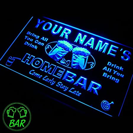 P tm name personalized custom home bar beer neon light sign p tm name personalized custom home bar beer neon light sign mozeypictures Gallery