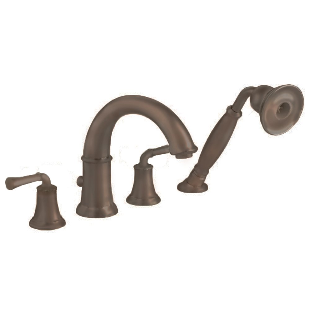 American Standard 7420.901.002 Portsmouth Deck-Mount Tub Filler with ...