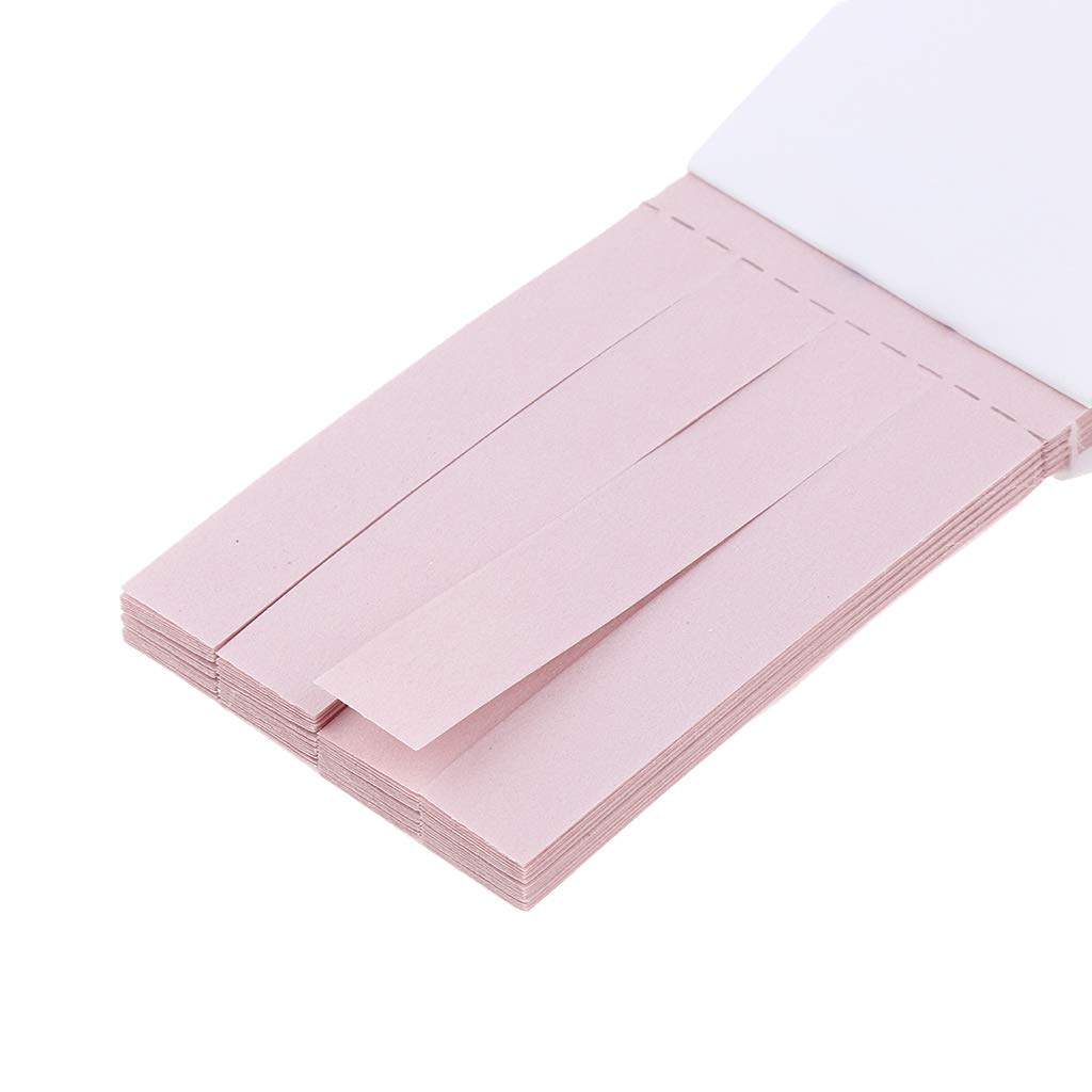 B Blesiya 40pcs Rotes Lackmuspapierpaketalkalitättestchemie-Experimentunterricht