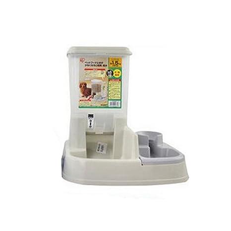 JL Alimentador De Mascotas Dispensador De Agua Automático 2 En 1 Cuenco De Agua De Comida