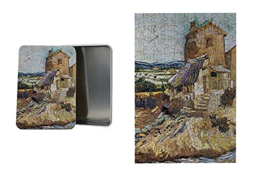 - The Garden Of Dr. Gachet (Van Gogh) Metal Tin Trinket Box (4