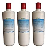 EWF-8001A EcoAqua Under Sink Water Filter Replacement for 3M AP3-C765 (3-Pack)
