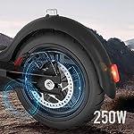 HAOYF-Pieghevole-Monopattino-Elettrico-per-Adulti-con-Motore-da-250-W-Display-LCD-Carico-Massimo-120-kg-Distanza-Massima-da-30-Km-Scooter-Portatile-per-Pendolari