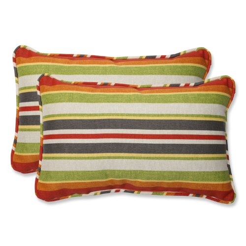 Pillow Perfect Outdoor Stripe Rectangular