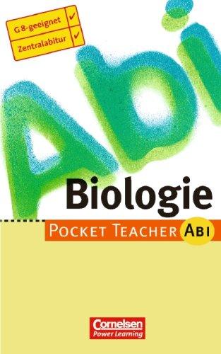 Pocket Teacher Abi. Sekundarstufe II - Bisherige Ausgabe (mit Umschlagklappen)/Biologie
