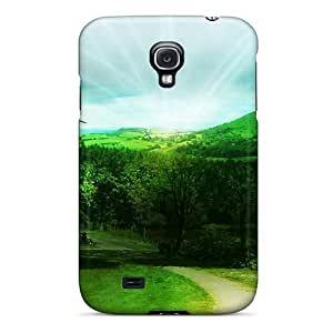 Design How Green My Valley Hard For Case Samsung Galaxy S3 I9300 Cover