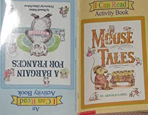 Paperback A Bargain for Frances/MouseTales (An I Can Read Activity Book) Book
