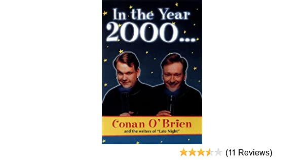 In The Year 2000 Conan Obrien 9781573227711 Amazoncom