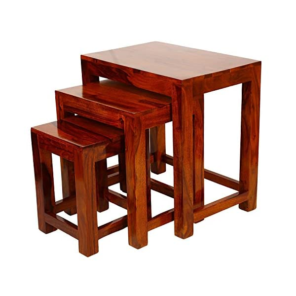 Best Decor Wood Nesting Table for Living Room India 2021