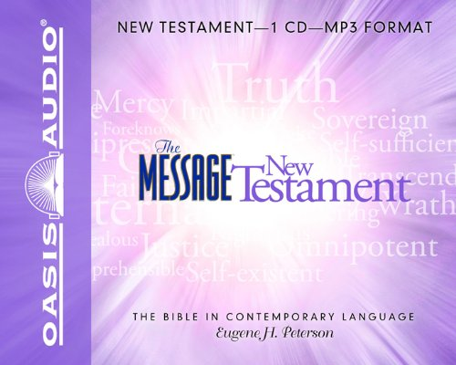 Mp3 Message (The Message Bible: New Testament)