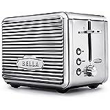 BELLA 14387 Linea Collection 2 Slice Toaster, Chrome