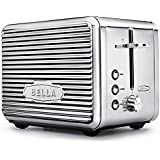 BELLA 14387 Linea Collection 2 Slice Toaster, Chrome