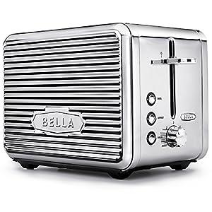 Amazon Com Bella Linea 2 Slice Toaster With Extra Wide