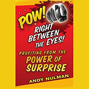 Pow! Right Between the Eyes Audiobook