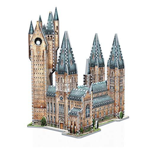 Wrebbit 3D Puzzle Harry Potter Hogwarts Astronomy Tower Puzzle (875-Piece)