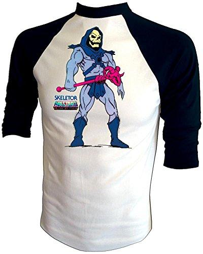 - Vintage 1983 Mattel He-Man Masters of the Universe Cartoon SKELETOR T-Shirt, large