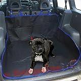 Housse pour siège arrière ou coffre de voiture 2 en 1 - Imperméable, évite les poils