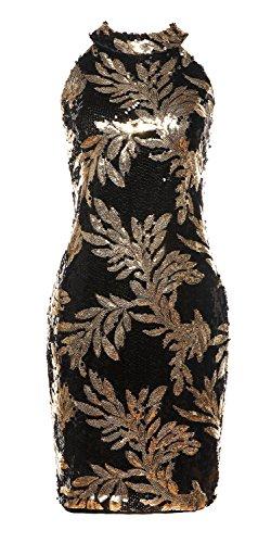 Sequin Cocktail Party Dress - 8