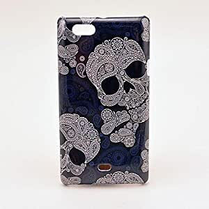 Pretty Cool Skull Pattern Hard Case for Sony Xperia Miro ST23i