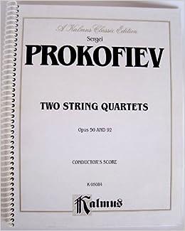 UPD Quartet For Strings, Nos. 1-2, Op. 50, 92: Full Score (Full Score) (Kalmus Edition). STAFF busca durante proxima Deben SCHOOL Empresa