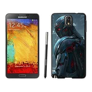Popular And Unique Custom Designed Case For Samsung Galaxy Note 3 N900A N900V N900P N900T With Ultron in Avengers Age of Ultron(1) Black Phone Case