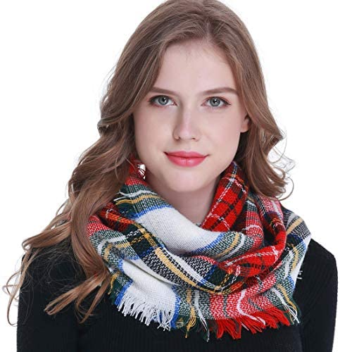Winter Infinity Fashion Tassel Scarves product image