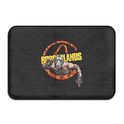 Borderlands Game Logo Fire Design Doormat And Dog Mat ,40...