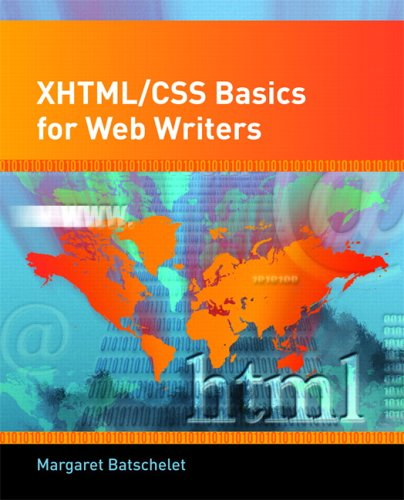 XHTML/CSS Basics for Web Writers by Pearson