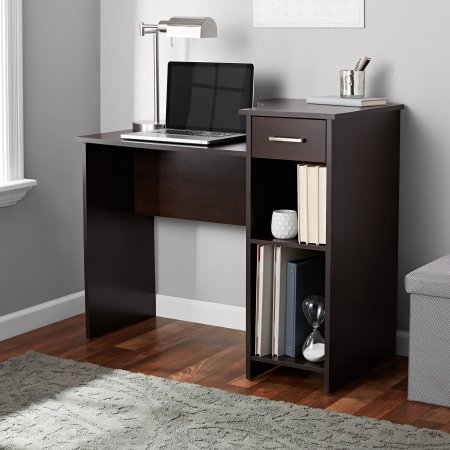 Office Desk Bedroom - Mainstays Student Desk Home Office Bedroom Furniture Indoor Desk, Espresso