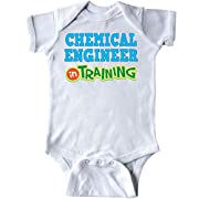 Inktastic - Chemical Engineer in Training Infant Creeper 12 Months White